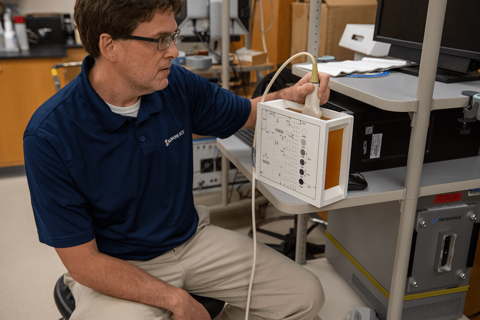 Michael Oelze with Ultrasound Technology