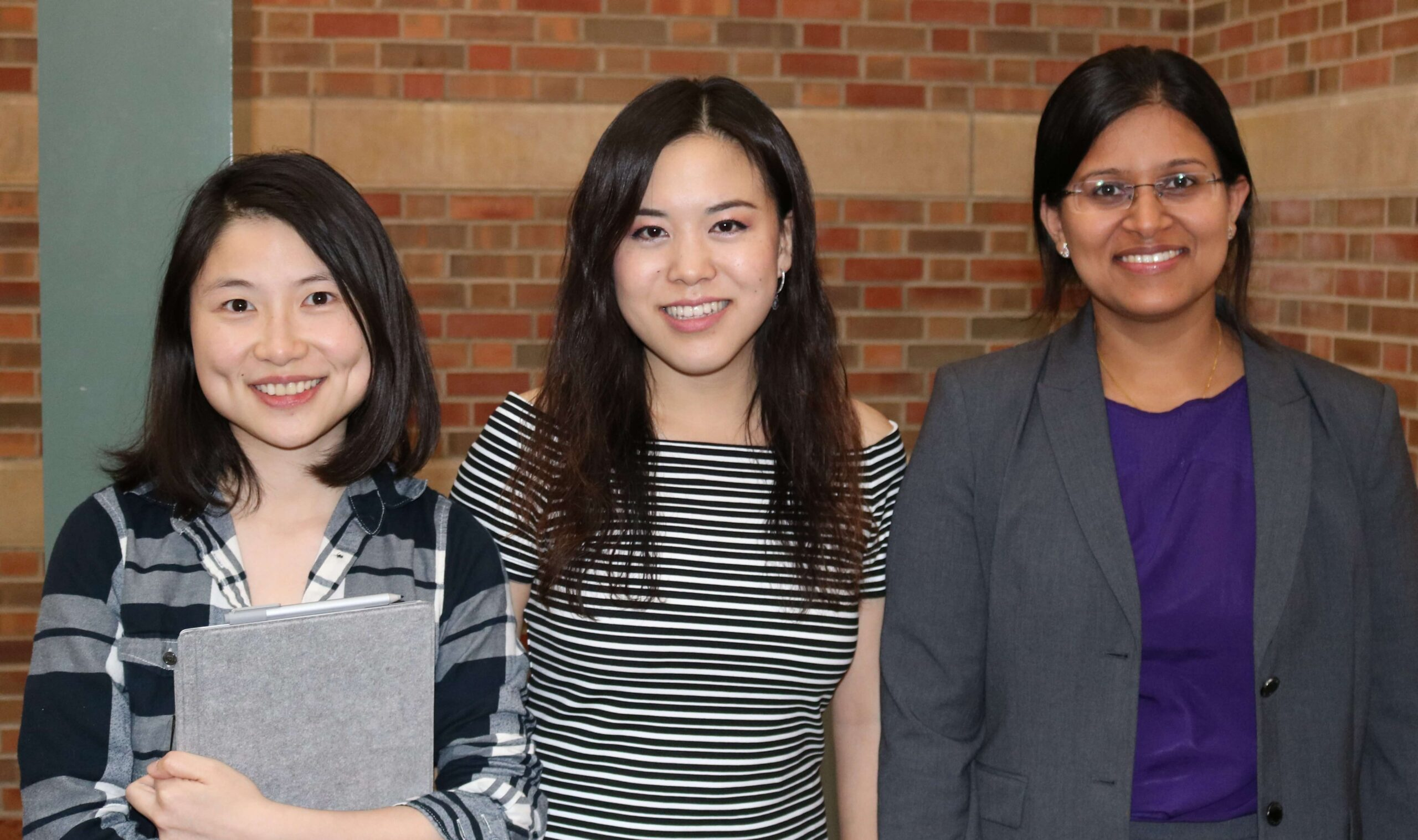 TiMe Competition Winners, Sixian You, Shachi Mittal, and Joanna Li