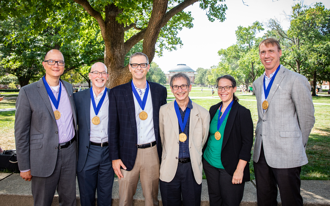 CCIL scientists earn Illinois' Presidential Medallion for COVID response leadership