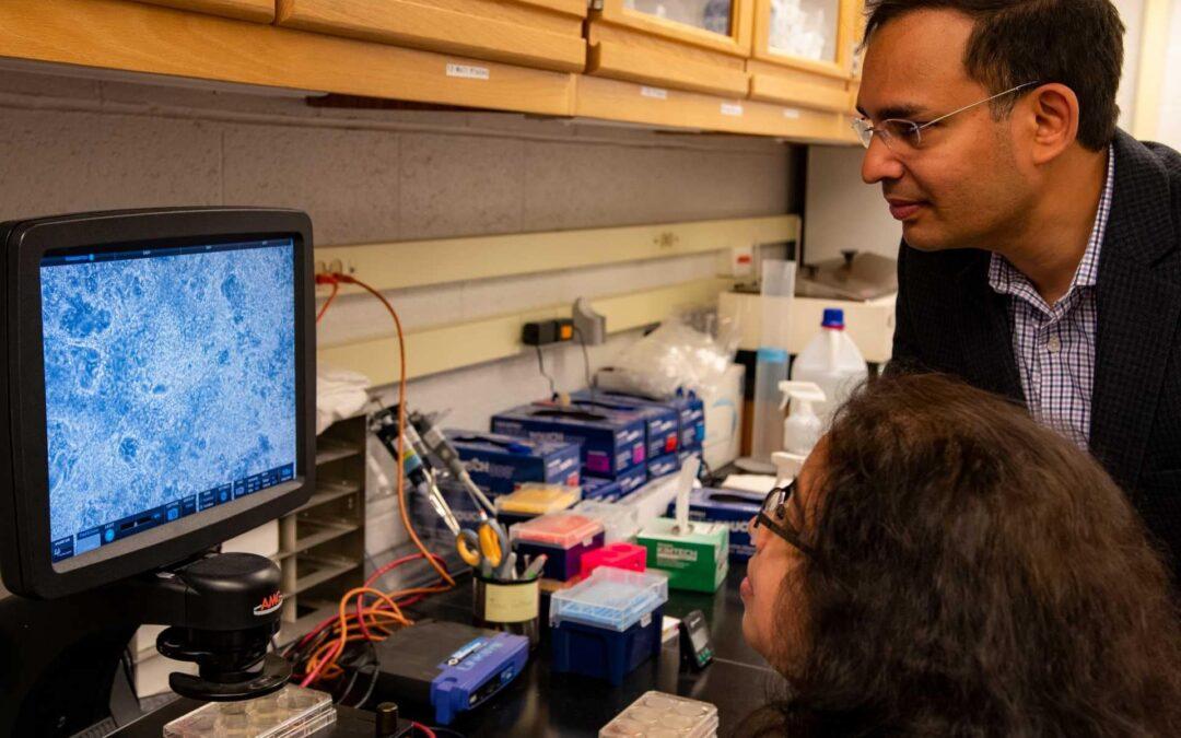 CCIL Biochemist Explores RNA Splicing's Role in Liver Cancer